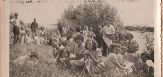 Déjeuner sur l'herbe au bord de la Loire.